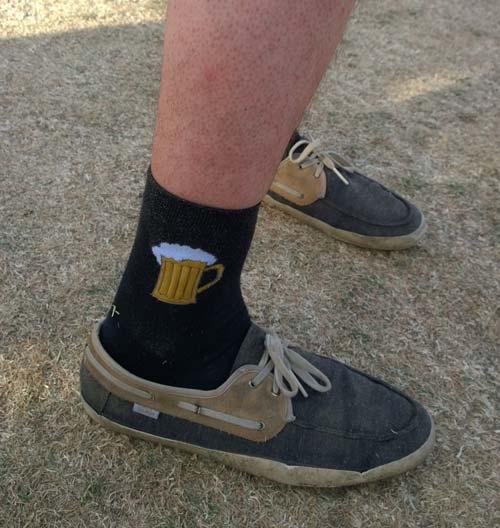 Los calcetines altos están de moda!