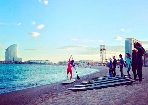 Barcelona en agosto. Surf House