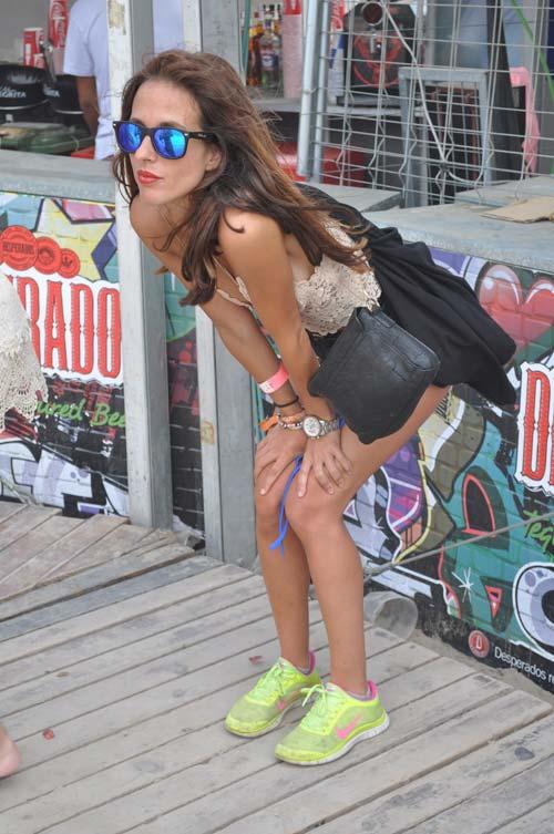 Runner girl (Arenal Sound)