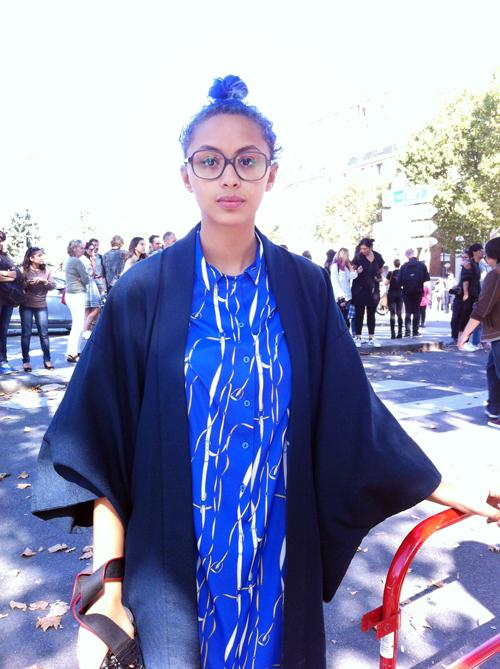 Kimono girl (Paris)