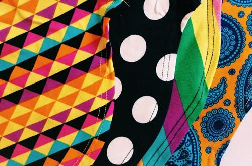 Rayas, puntos y triángulos · Happy Socks