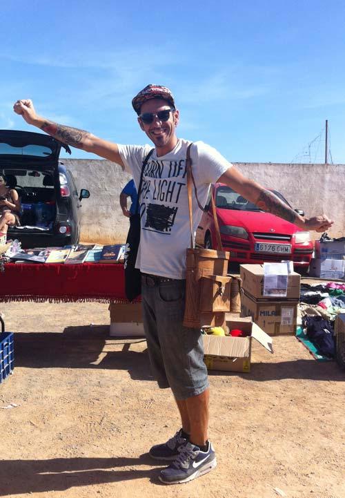 Bolso para chico (Ibiza)