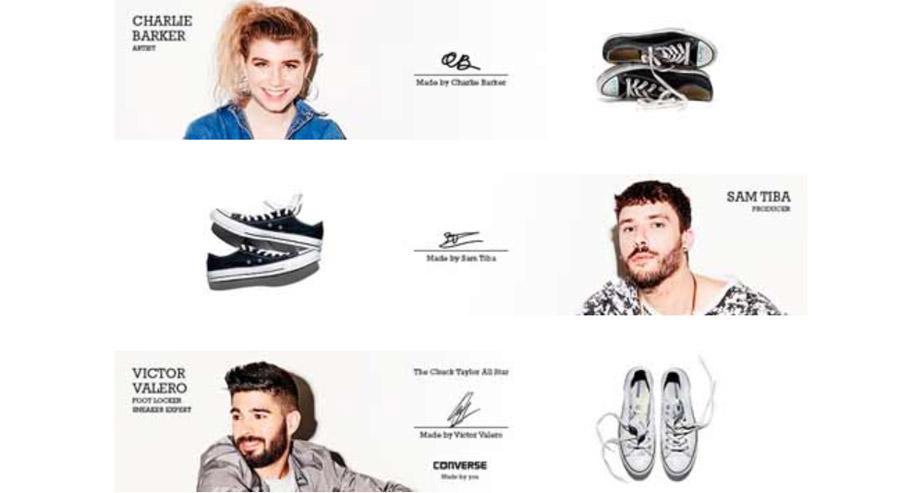 La nueva campaña de Converse y Foot Locker