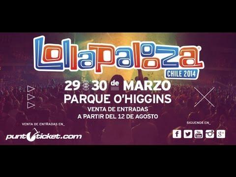 Llega el Lollapalooza de Chile