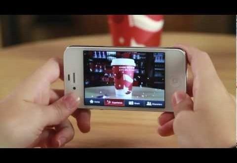 Tazas mágicas en Starbucks