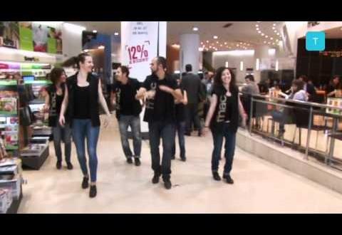 Fnac Triangle promociona 'The Artist' bailando claqué