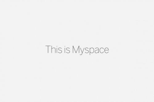 MySpace is back