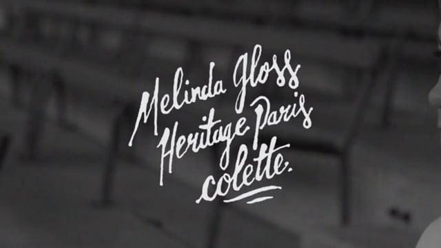 Melinda Gloss x Hèritage Paris