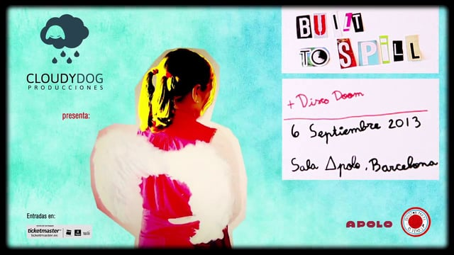 Built to Spill, el 6 de septiembre en Barcelona