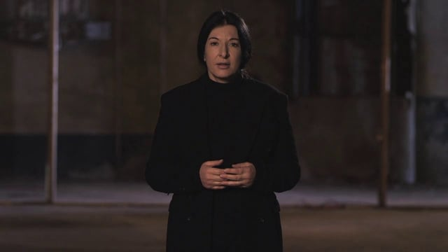 Slow Motion Walk I Marina Abramovic