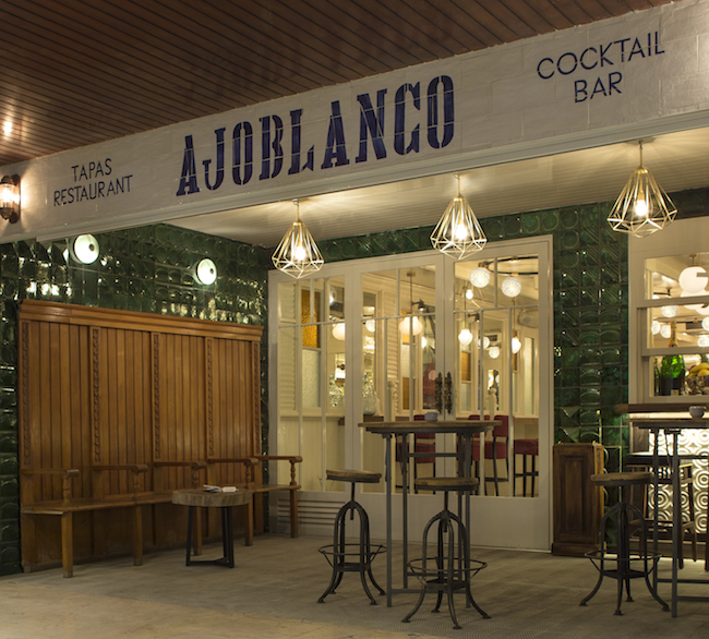 Los cocktails de Ajoblanco