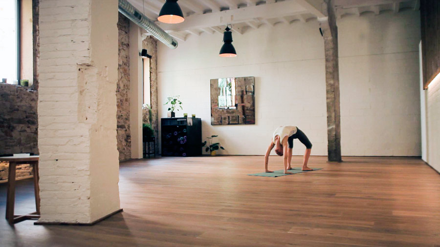 The Garage Veronica Blume Yoga Barcelona Tendenciastv