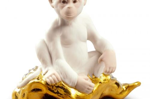 El mono da la bienvenida al Año Nuevo chino