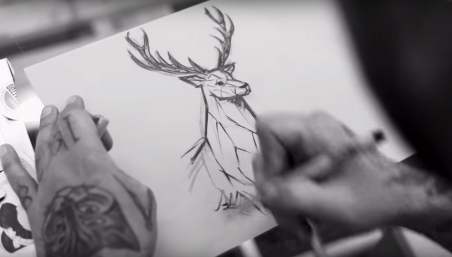 Tattoos convertidos en un corto de animación