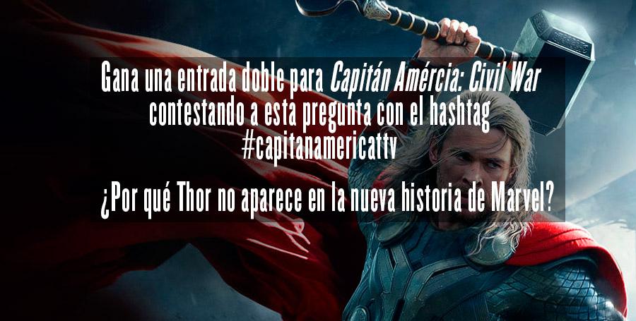 Sorteamos 3 entradas dobles para ir a ver el Capitán América: Civil War