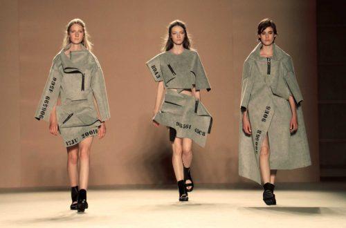 Txell Miras en 080 Barcelona Fashion SS17