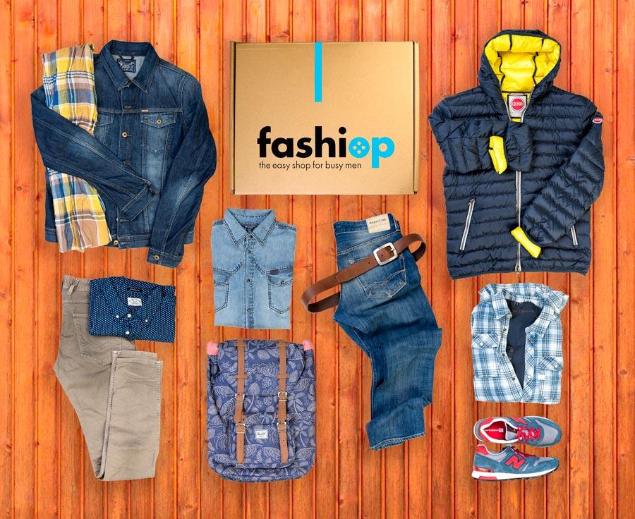 Fashiop, el Personal Shopper online para hombres