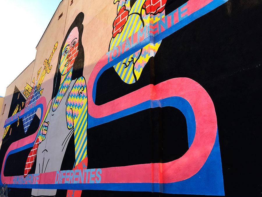 Street Art en Madrid. Tabacalera & Lavapiés