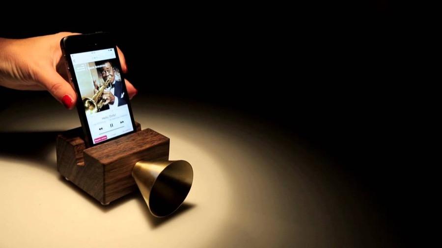 Fairchanges ecophonic altavoz de madera inalámbrico
