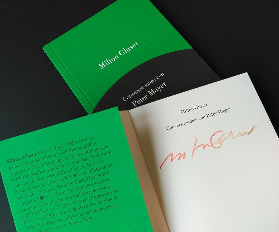 Milton Glaser Conversaciones con Peter Mayer