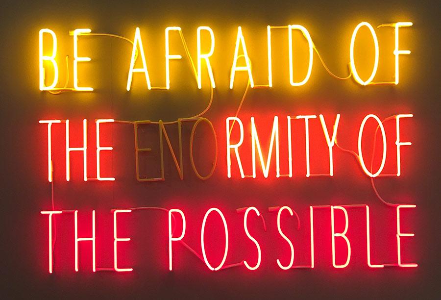 Arte actual y poco riesgo