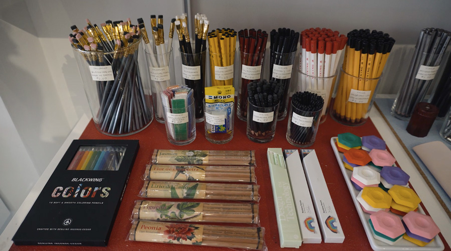 cw pencils new york