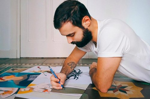 Dino Galvagno y sus historias ilustradas