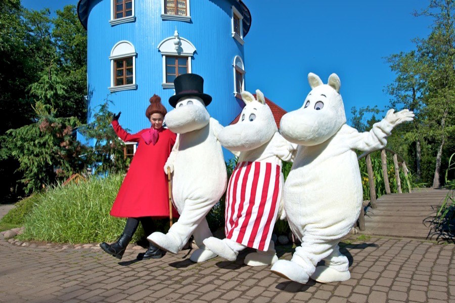 moomin world en Naantali