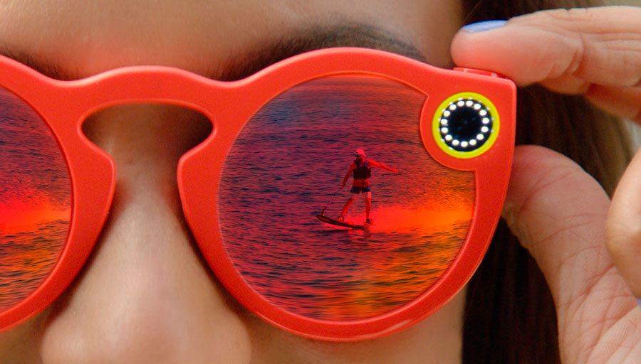 snapchat spectacles graban video