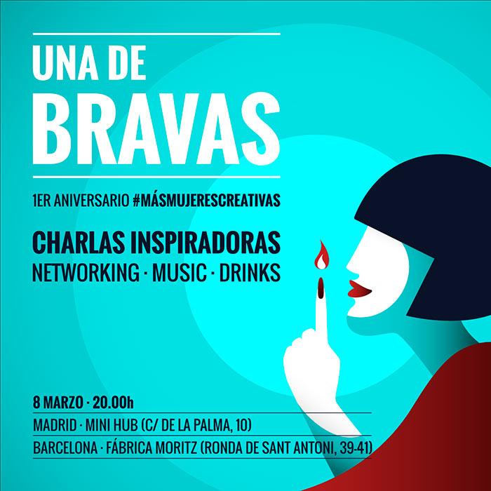 una de bravas mas mujeres creativas barcelona