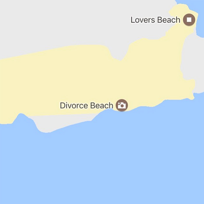 sadtopographies Divorce Beach MEXICO
