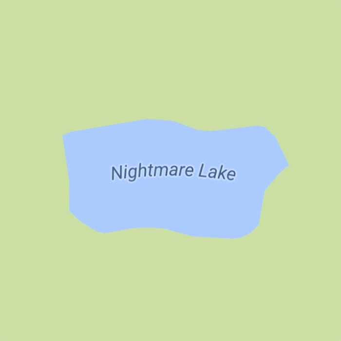 sadtopographies Nightmare Lake USA