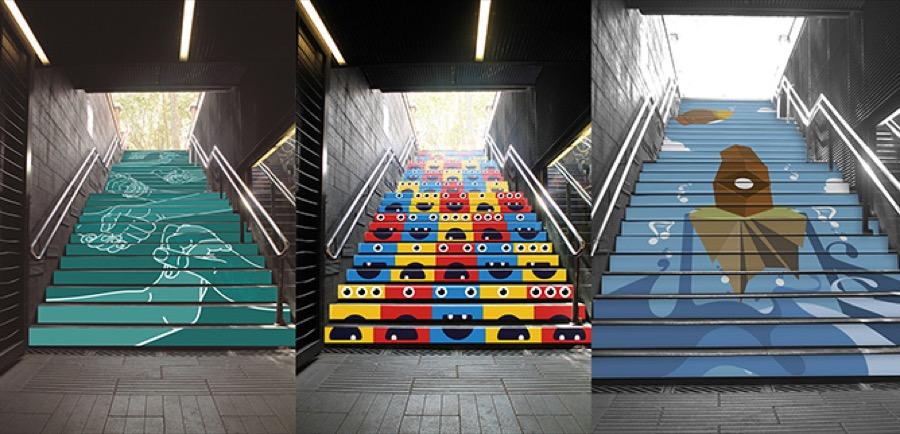 metro barcelona exposición