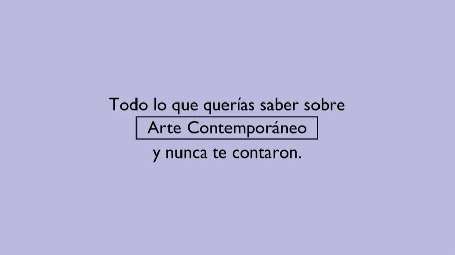 Arte contemporáneo hecho documental