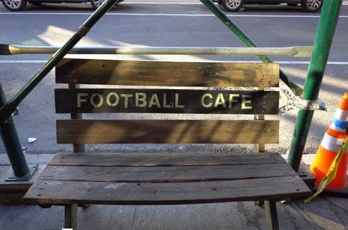 Más que cafe: el café que homenajea al fútbol