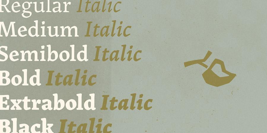 tipografia landa