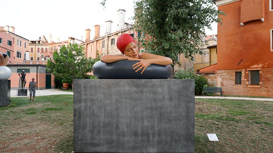 Carole A.Feuerman escultura hiperrealista