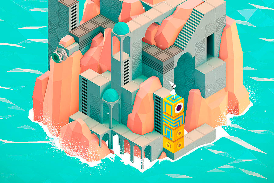 Monument Valley, un juguete audiovisual adorable