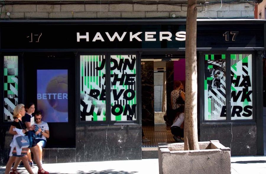 Hawkers calle Carretas