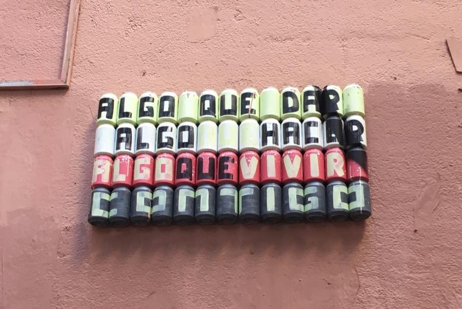 latas paredes Barcelona