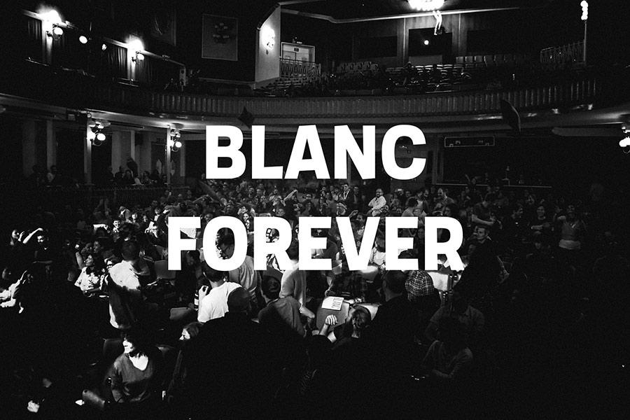 blanc festival 2017 barcelona diseño gráfico