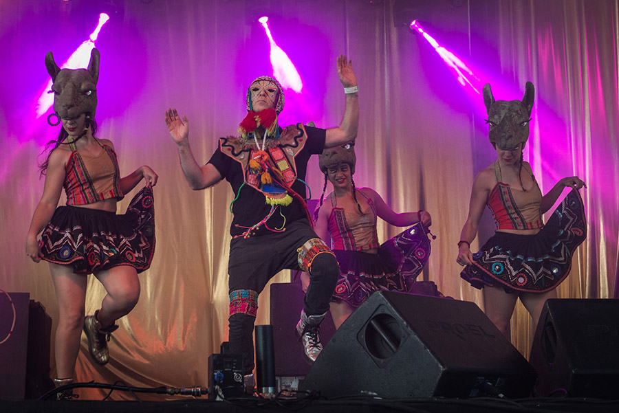 King Coya and the queen cholas Sonar Lab Buenos Aires 2017