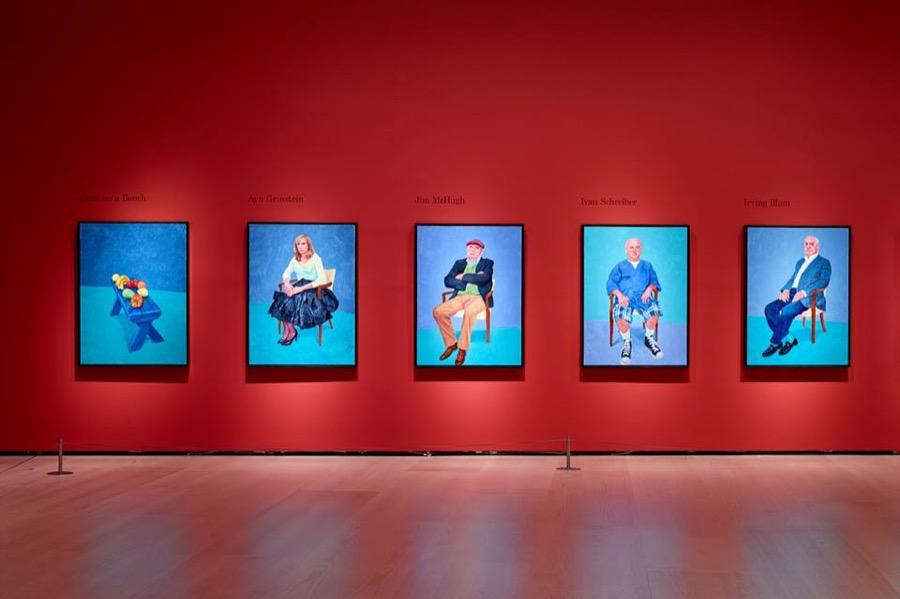 Los 82 Retratos y 1 Bodegón de Hockney en el Guggenheim