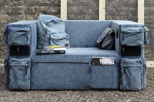 Eastpack, sofás y cremalleras