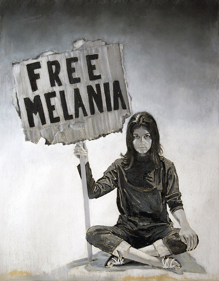 Eric Yahnker Free Melania