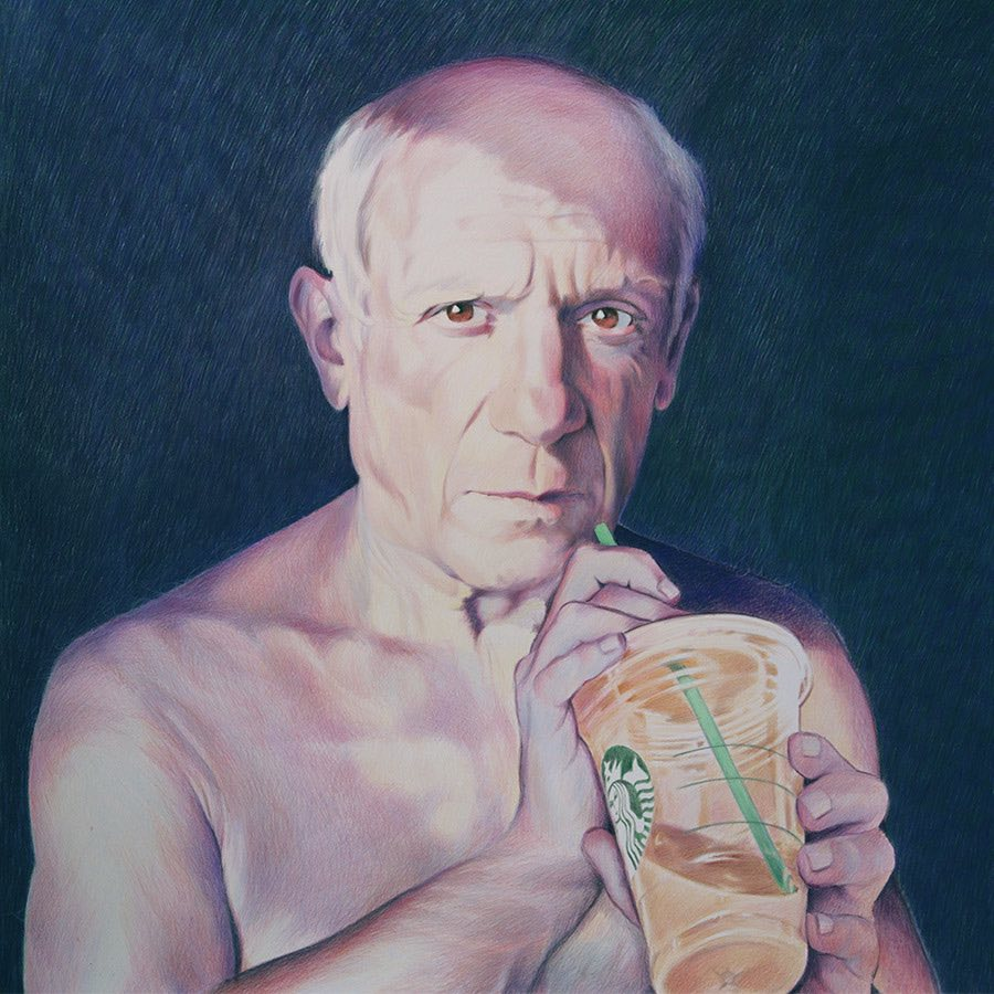 Eric Yahnker Picasso