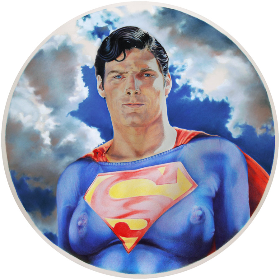 Eric Yahnker Superman