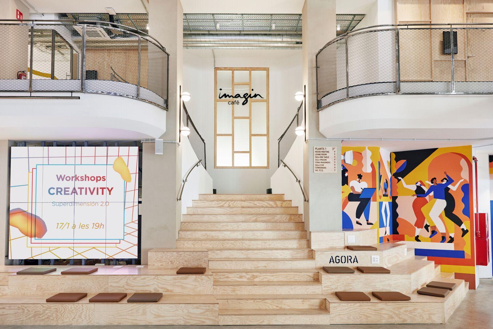 Un centro cultural para millenials & generación Z · imaginCafé