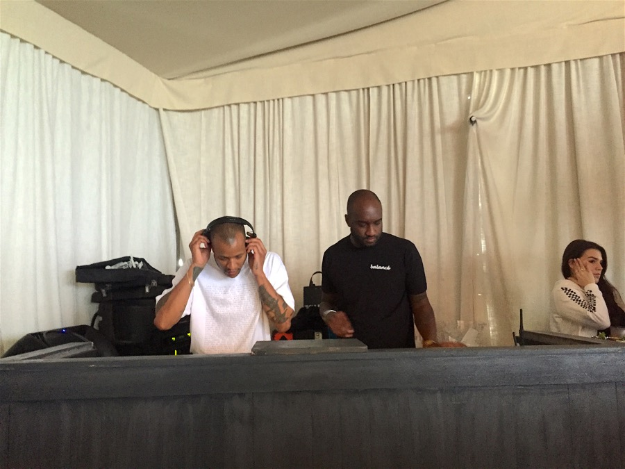 Virgil Abloh & Heron Preston. DJs en Miami