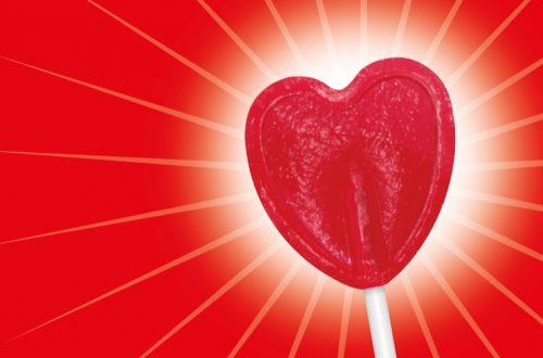 50 años de las piruletas de corazón rojo